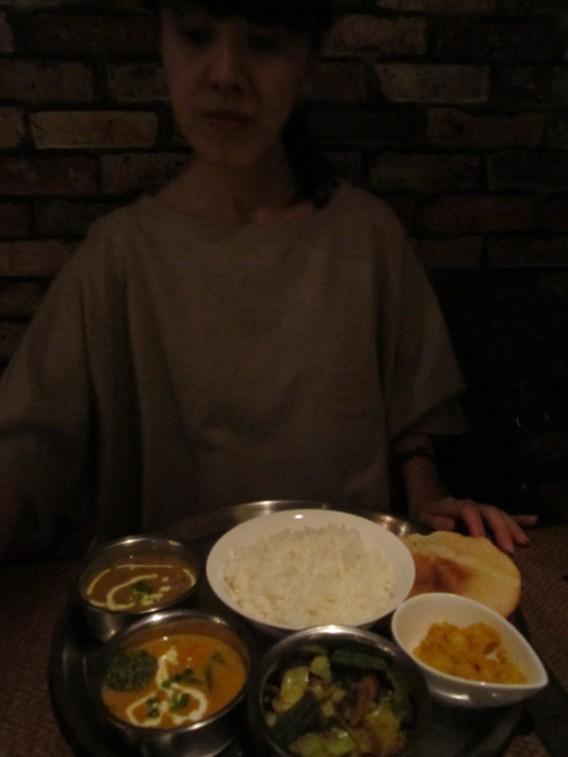 ネパール料理「タルバートセット」