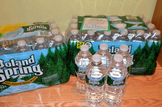 保存用の水