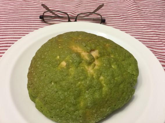 抹茶のメロンパン